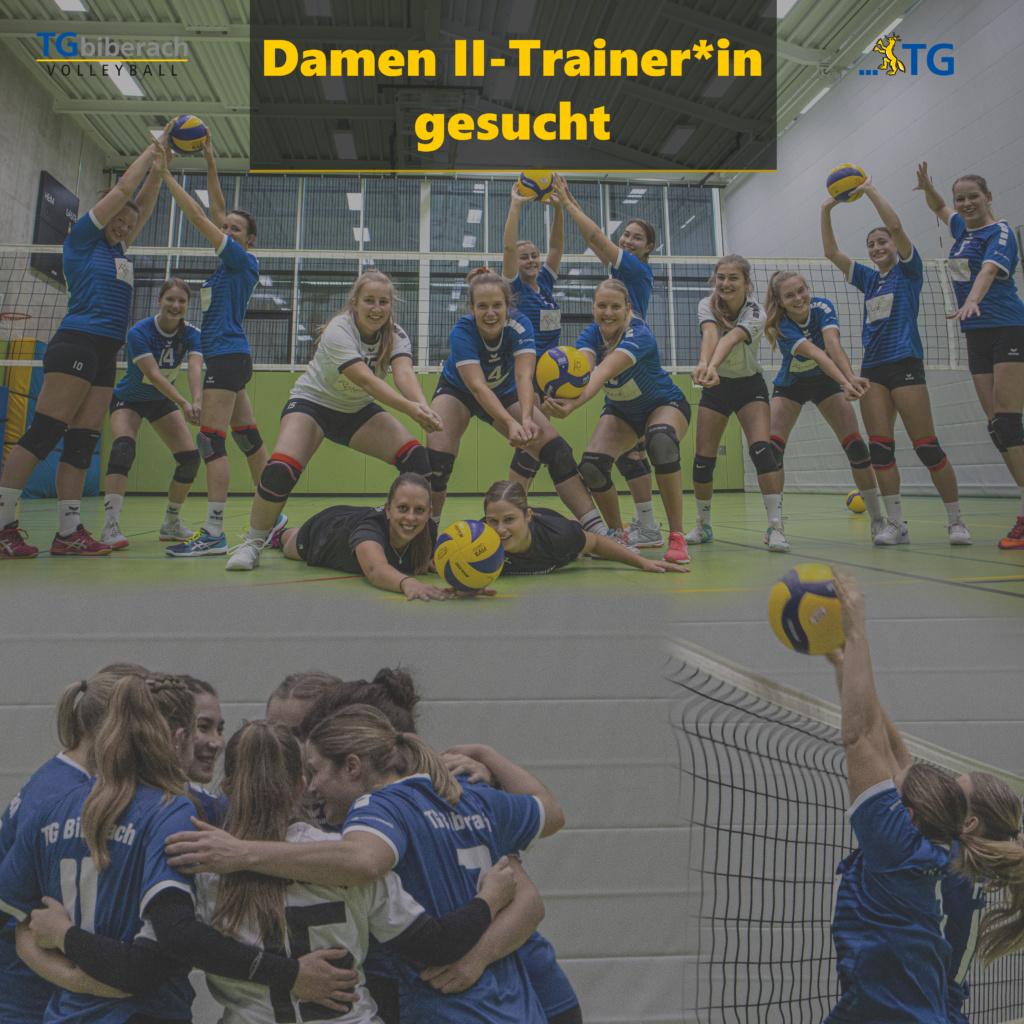 Damen II Trainer*in gesucht
